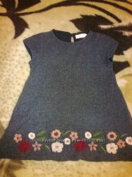 платье сарафан zara 110, 116
