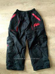 Утепленные штаны на зиму, 110-116