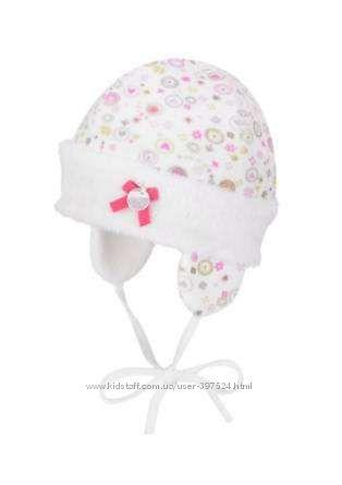 Шикарные шапочки для малышей из Германии Doll, Disney Baby на 39-46см