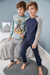 Новый набор пижам Next с динозаврами 6 лет