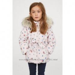 Куртка h&m деми тёплая зима рост 116 5-6 лет