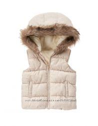 Теплые жилетки и курточки CRAZY8 GYMBOREE для девочек