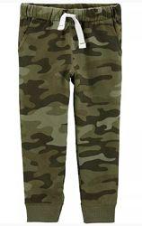 Флисовые и хб штаны CARTERS, размеры от 2х до 8лет