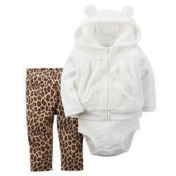 Теплые костюмы от Carters для девочек