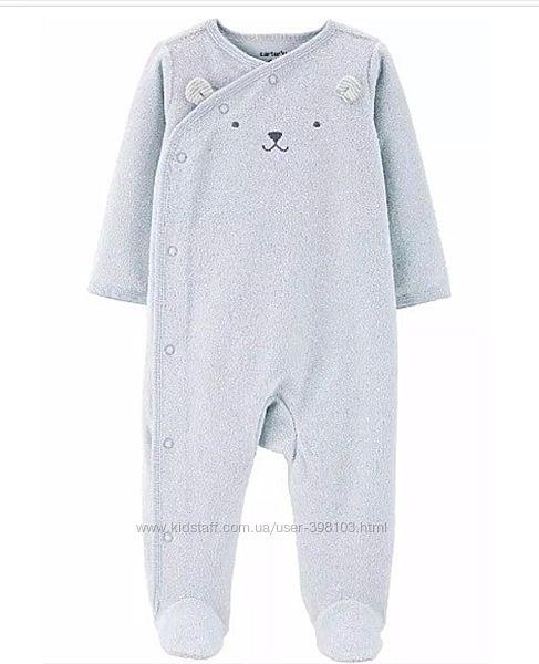 Махровые человечки и костюмчики CARTERS для малышей