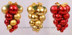 Новогодние шары-гроздья
