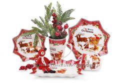 Новогодняя и Рождественская посуда