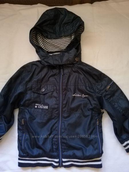 Куртка ветровка фирменная на 2-3 года, 86-92 см.