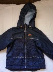 Куртка на флисе, 86-92 демисезонная