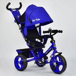 Детский трехколесный велосипед BEST TRIKE 5700 PENA  поворотное сидение