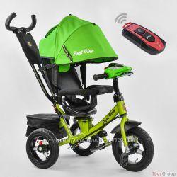 Детский трехколесный велосипед Best Trike 7700 B 2019  пульт