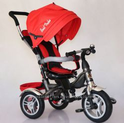 Детский трехколесный велосипед Best Trike 6588 Эко-лен, сидение 360.