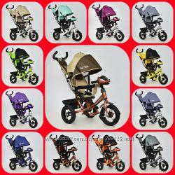Детский трехколесный велосипед Best Trike  7700 B сидение 360.