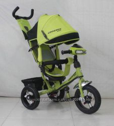 Детский трехколесный велосипед Azimut Crosser T1 One Накачка