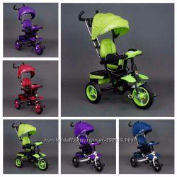 Детский трехколесный велосипед Best Trike 6699 Фара  поворотное сидение