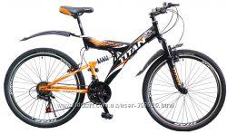 Горный велосипед двухподвесник 26 Titan Tornado