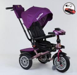 Детский трехколесный велосипед BEST TRIKE 9288 В фара, музыка, поворот