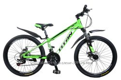 Крутой горный подростковый велосипед 24 TITAN XC2419