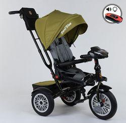 Акция Удобный, комфортный трехколесный велосипед BEST TRIKE 9288