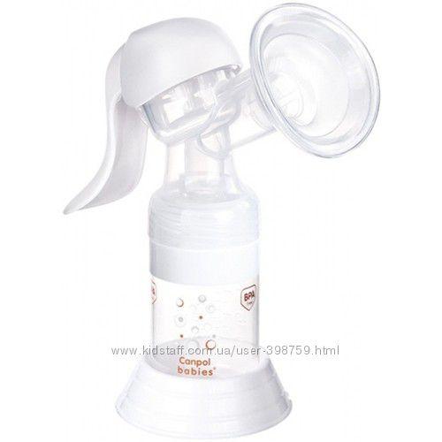 Canpol Молокоотсос ручной Basic 12205