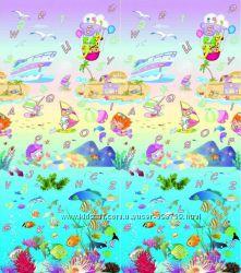 BabyPol Игровой коврик Подводный мир 1800х2000х10 мм