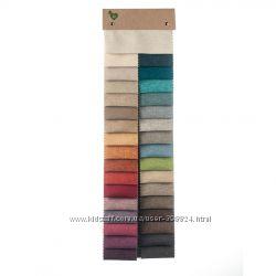 Новая коллекция плотно турецкой шторной ткани, рогожка под лен, 33 оттенка