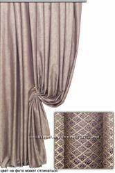 Красивая шторная ткань, винтажный шик, потертость. Турция. Оттенки