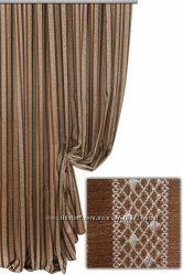 Красивая шторная ткань, турция, вертикальная полоскаОттенки