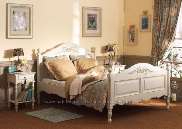 Красивая кровать в стиле прованс, шебби, кантри.