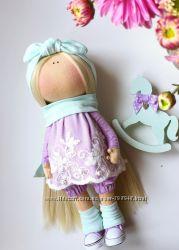 Авторская Итерьерная кукла с лошадкой