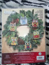 Набор Janlynn Owl ornaments
