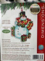 Набор Dimensions Snowman ornament