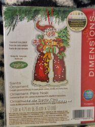 Набор Dimensions Santa ornament