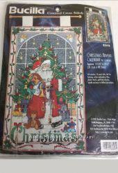 Набор для вышивки Bucilla Cristmas Advent Calendar