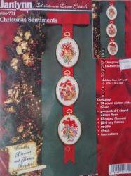 Набор для вышивки Janlynn Christmas Sentiments.