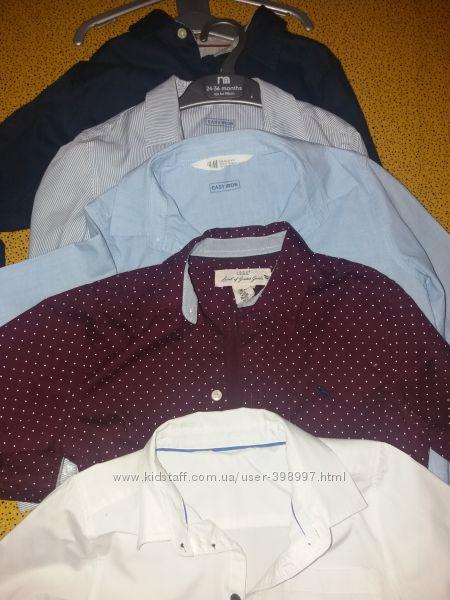 H&M рубашки