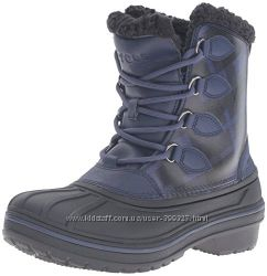 Зимние ботинки crocs р. 6US и 8US. Оригинал