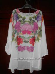 Легкая блуза H&M оверсайз р. 36eur. Сток