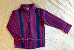 Рубашка в клетку Adams baby на мальчика 2-3 года