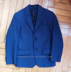 Модный школьный пиджак мальчику на 7-8 лет