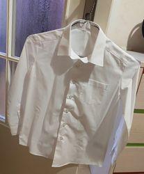 Белая рубашка George 7-8 лет