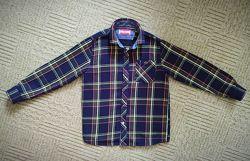 Теплая рубашка на 7-8 лет