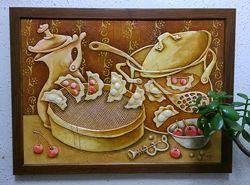 Картина Вареники с вишнями