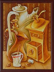 Кофейный натюрморт