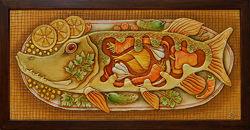 Картина Фаршированная щука