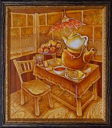 Картина Чай с вареньем