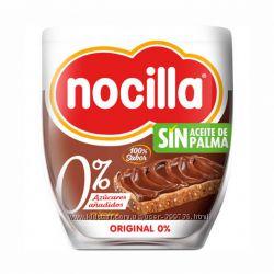 Шоколадная паста без сахара и пальмового масла, Nocilla, 190г