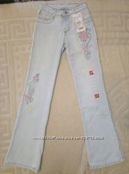 Новые стрейчевые летние джинсы Gloria Jeans р. 140-146