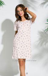 Женская ночная рубашка из высококачественного хлопка.
