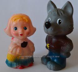 Резиновые игрушки отличного качества, Огонек